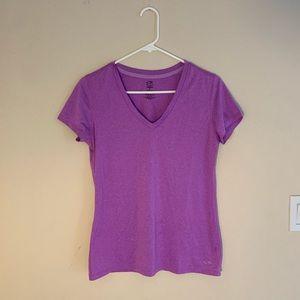 Champion DuoDry purple workout shirt